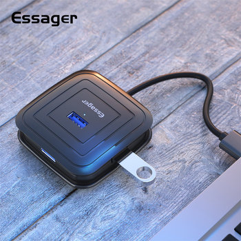 Essager USB HUB 4 Port USB 3.0 Splitter